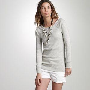 J. Crew   Jaspe Boyfriend Pullover Sweatshirt   M